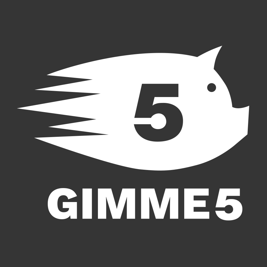 Logo Gimme5 - Salvadanaiodigitale